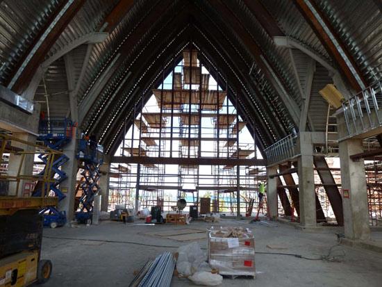 Construction of Aulani, a Disney Resort & Spa, Ko Olina, Hawai`i