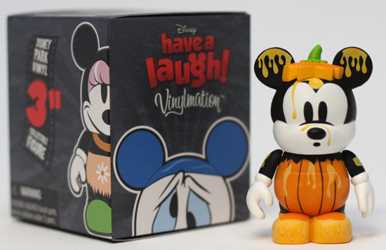 Mickeys Garden Pumpkin Figure