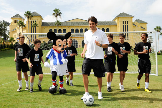 Brazilian Soccer Star Kaka at ESPN Wide World of Sports Complex
