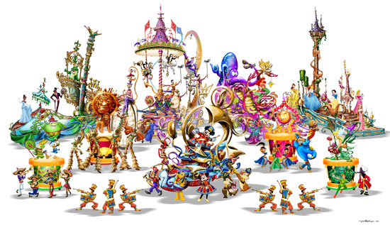 Soundsational Parade Artwork
