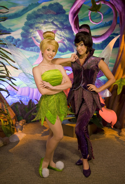 Vidia and Tinker Bell