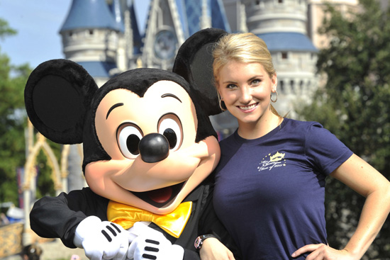 Miss Arizona with Mickey Mouse
