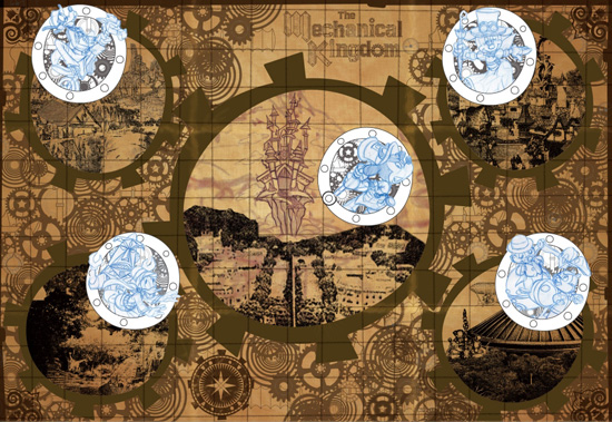 Steampunk Map