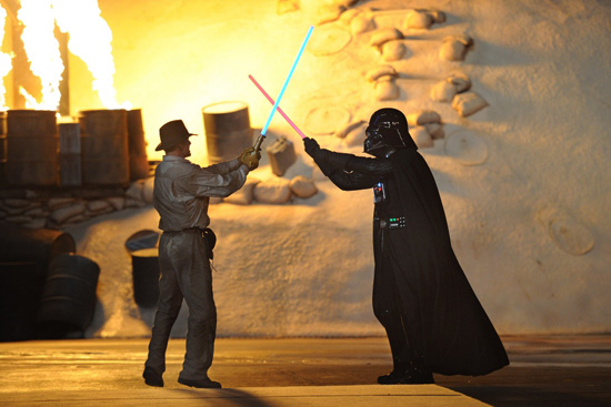 Indiana Jones vs. Darth Vader