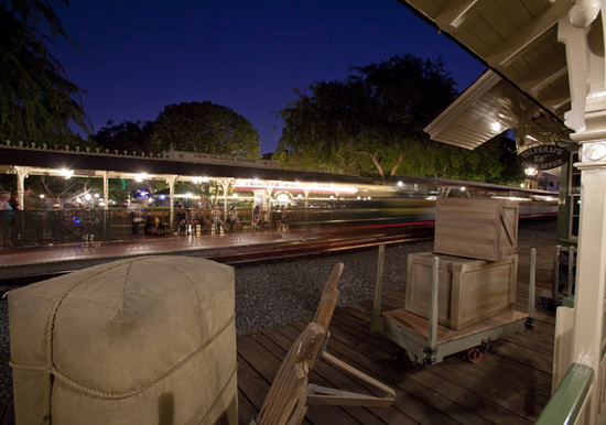New Orleans Square Train Station, By: Paul Hiffmeyer