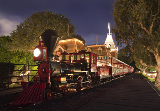 Train at Main Street Station, By: Paul Hiffmeyer