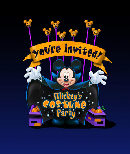 Mickey's Costume Party Artwork