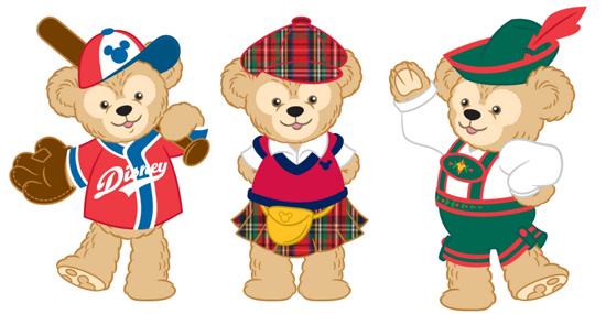 Duffy the Disney Bear Costumes