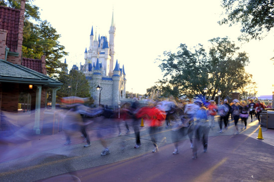Disney Marathon Runners