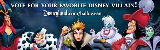 Vote for Your Favorite Disney Villain