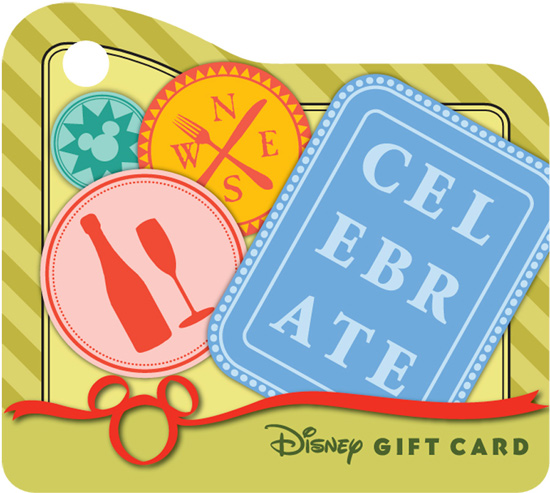 Mini Disney Gift Card