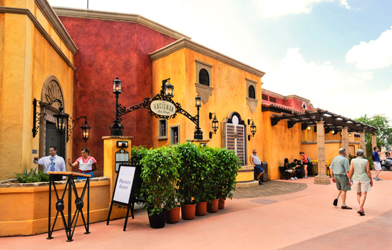La Hacienda at Epcot's Mexico Pavilion