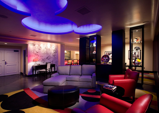 Mickey Mouse Penthouse Suite