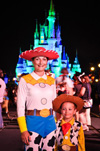 Disney Guests in Halloween Costumes
