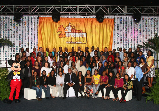 Disney's Dreamers Academy with Steve Harvey