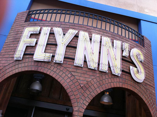 Flynn's Arcade at ElecTRONica at Disney California Adventure park