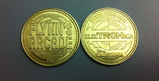 Flynn's Arcade Token