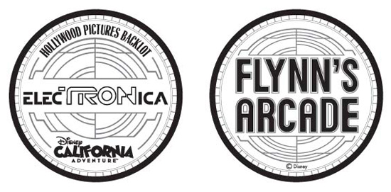 Flynn's Arcade Token Concept &amp; Design