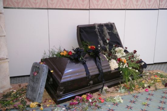 Floral Casket