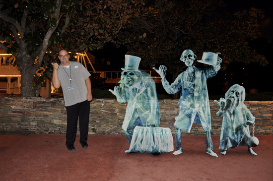 Hitchhiking with Ghosts Outside the Haunted Mansion