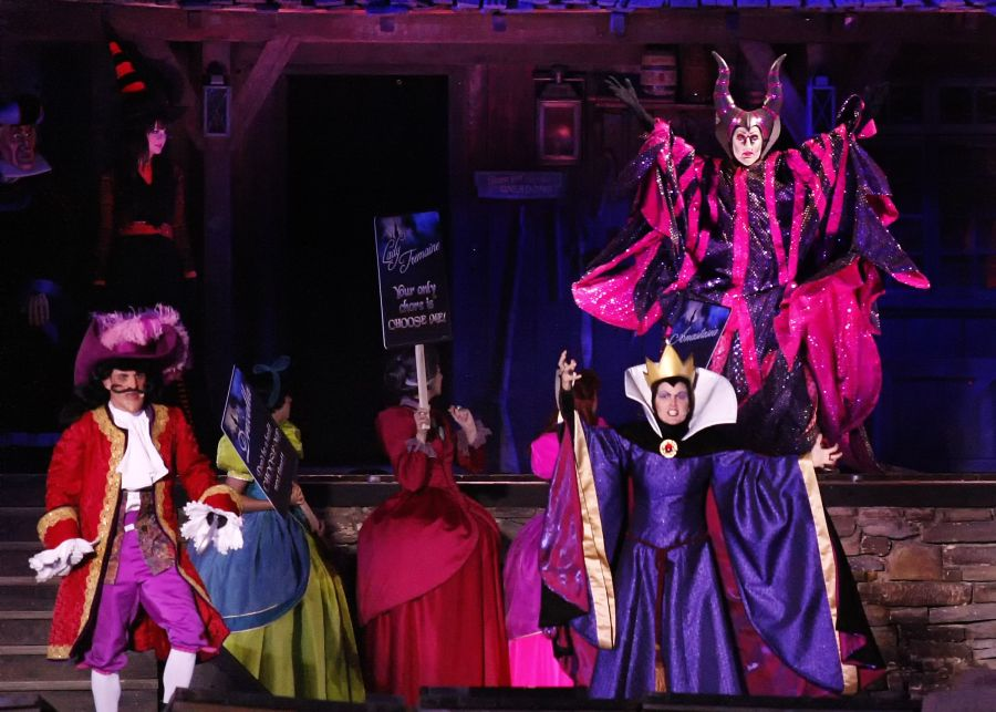Maleficent at Villains Victory  Disney Villain Dance Costumes