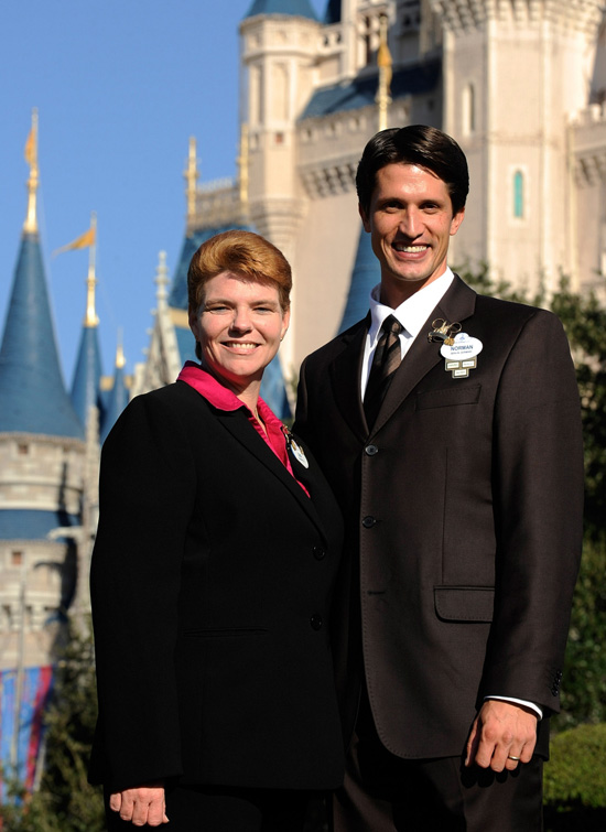 2011-2012 Walt Disney World Resort Ambassador Team, Jennifer Mason and Norman Vossschulte