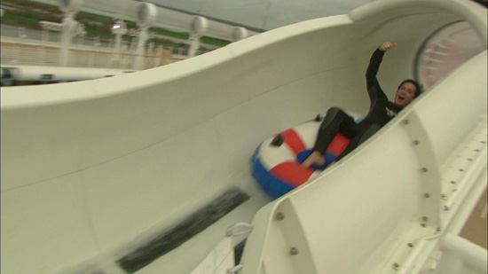 A Ride on the AquaDuck Aboard the Disney Dream