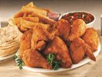 Fried Fiesta Chicken at Pollo Campero