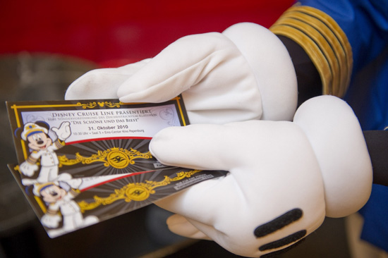 Commemorative Tickets for the Exclusive Showing of 'Beauty & The Beast'