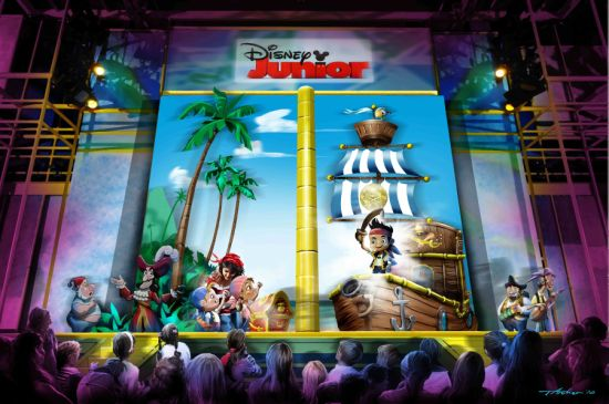"""""""Jake and the Never Land Pirates"""" on Disney Junior"""