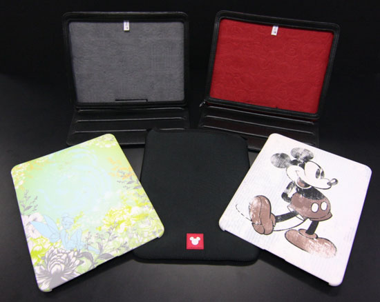 Disney D-Tech iPad Covers and Portfolios