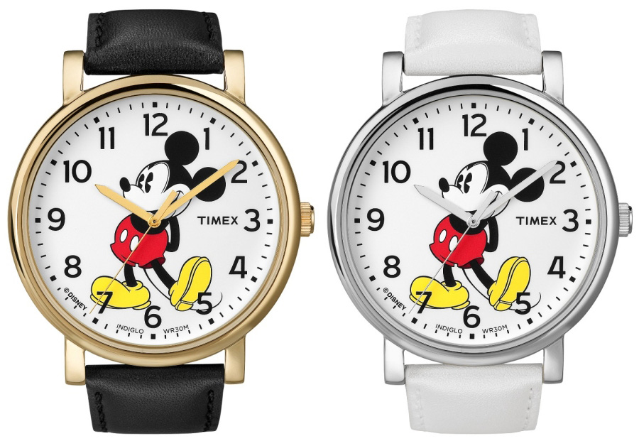 do you the time mickey mouse watches at disney parks