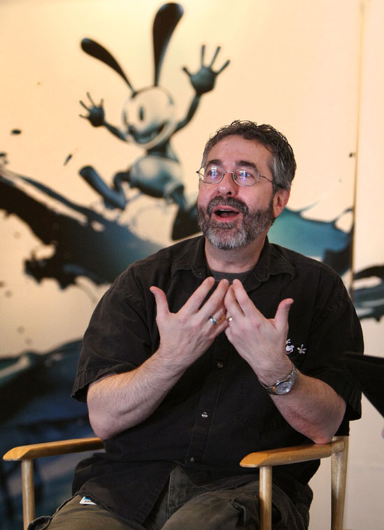 Warren Spector, Creator of Epic Mickey Video Game