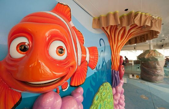 Nemo's Reef on Deck 11 of the Disney Dream