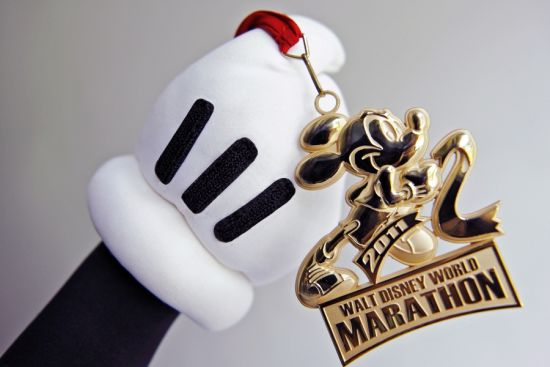Mickey Mouse Marathon Medal