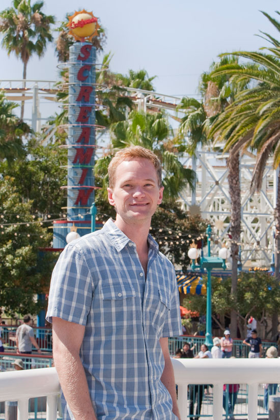 Neil Patrick Harris is the New Voice of California Screamin' at Disney California Adventure Park