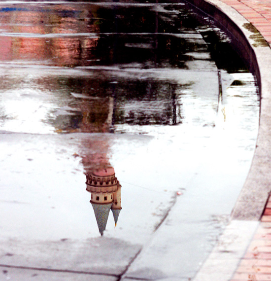 Rainy Day Reflections at Disneyland Resort