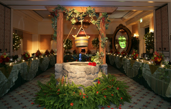 Snow White-Inspired Rehearsal Dinner at Disney's BoardWalk Inn