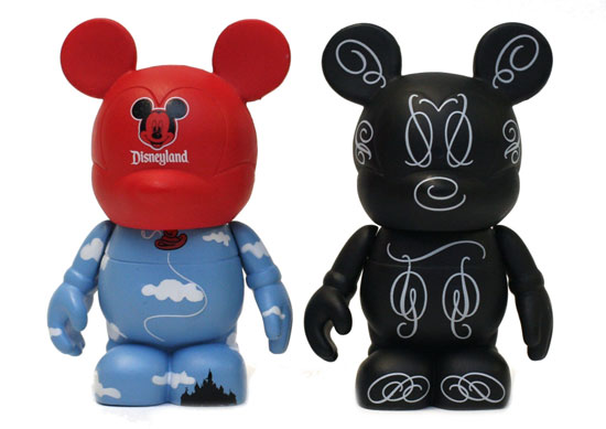 Red Balloon and Script Vinylmation Figures