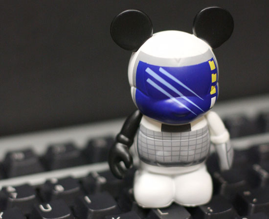 Computer Vinylmation Figure