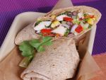 Chicken Salad Wrap at Pollo Campero