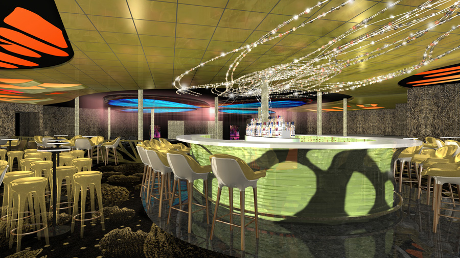 Artist impression of the Evolution Bar