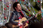 Lee DeWyze at the Taping of 'Disney Parks Christmas Day Parade' at Magic Kingdom