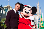 Ryan Seacrest at the Taping of 'Disney Parks Christmas Day Parade' at Magic Kingdom