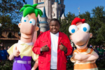 Sean Kingston at the Taping of 'Disney Parks Christmas Day Parade' at Magic Kingdom