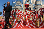 Darius Rucker at the Taping of 'Disney Parks Christmas Day Parade' at Magic Kingdom