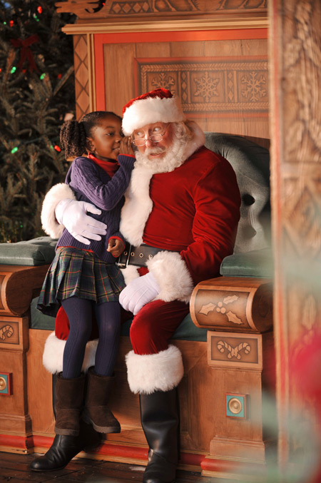 Santa at Downtown Disney