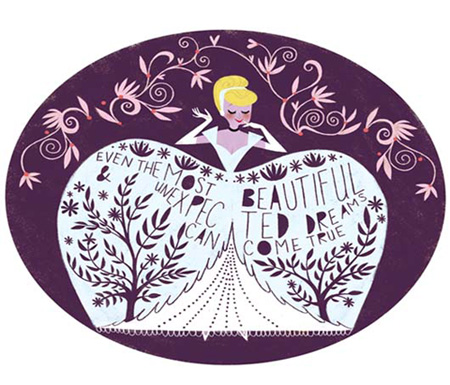 'Cinderella's Most Beautiful Dream' in the 'Art of Princess' Collection at Disney Vault 28