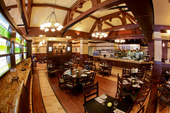Interior of Kouzzina by Cat Cora at Disney's BoardWalk