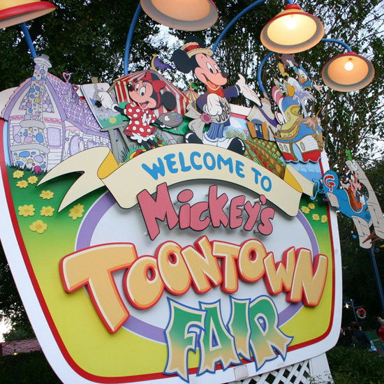 Mickey's Toontown Fair